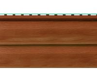 Виниловый сайдинг (Канада плюс) коллекция Премиум. Орех темный