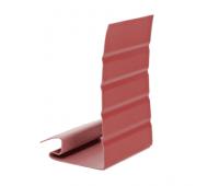Околооконная планка Элит для сайдинга, красная