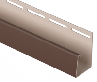 J-профиль фасадный 30 мм Табачный