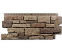 Цокольный сайдинг Creek Ledgestone (Бутовый камень) Rocky Mountain Clay
