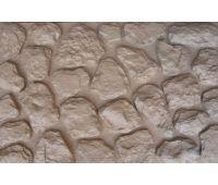 Фасадные панели Камень мелкий Бежевый