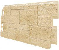 Фасадные панели (Цокольный Сайдинг) VOX Sandstone Кремовый