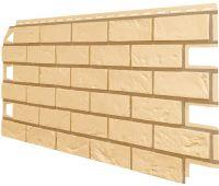 Фасадные панели (Цокольный Сайдинг) VOX Vilo Brick Песочный