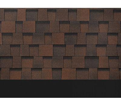 Ламинированная черепица DRAGON STANDARD Темно-коричневый от производителя Docke по цене 612.00 р