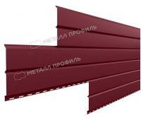 Металлический сайдинг Lбрус-15х240 (PURMAN-20-3005-0.5) Красное вино