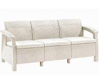 Трёхместный диван Sofa 3 Seat Белый